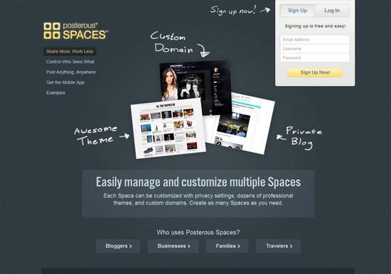 0254 07 free blogging posterous spaces   Le 10 principali piattaforme online per aprire un blog gratuitamente
