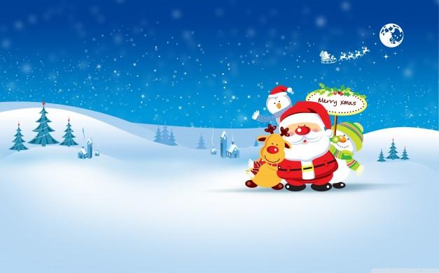 Raccolta di sfondi natalizi per il proprio desktop