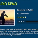 Audio Demo | Galaxy Brass 2012-11-12 14-12-14