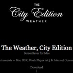 The Weather, City Edition | ScreenSaver for Mac by Stefan Trifan 2012-11-05 13-15-06
