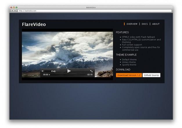 17 eccellenti e gratuiti lettori Video e Audio HTML5 per il vostro sito web