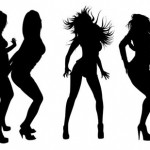 7 Hot Dancing Girl Silhouette