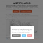 jQuery plugin for Avgrund concept popin 2012-12-04 19-27-30
