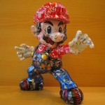 mario-made-from-aluminum-cans-japanese-artist-makaon