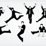 Free-Vector-men-Silhouettes-in-Motion